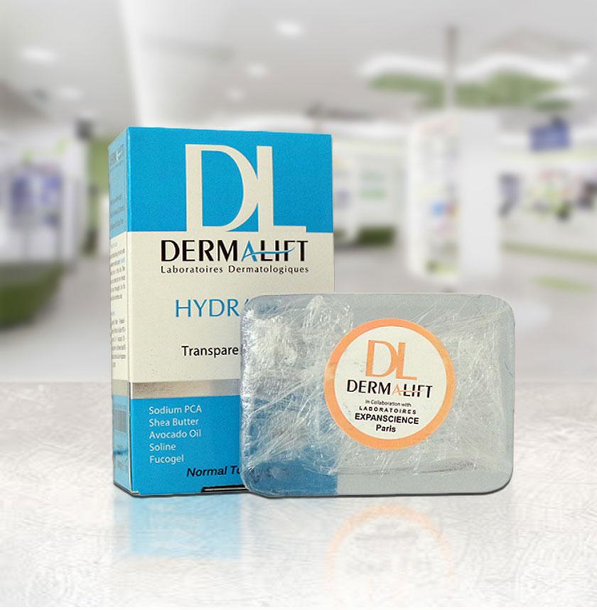 پن شفاف مرطوب کننده هیدرالیفت درمالیفت مناسب پوست معمولی تا خشک ۱۰۰ گرم